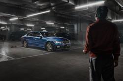 Parking-lot- BMW 3 series