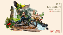Royal Enfield Global Print campaign (classic 350) 4