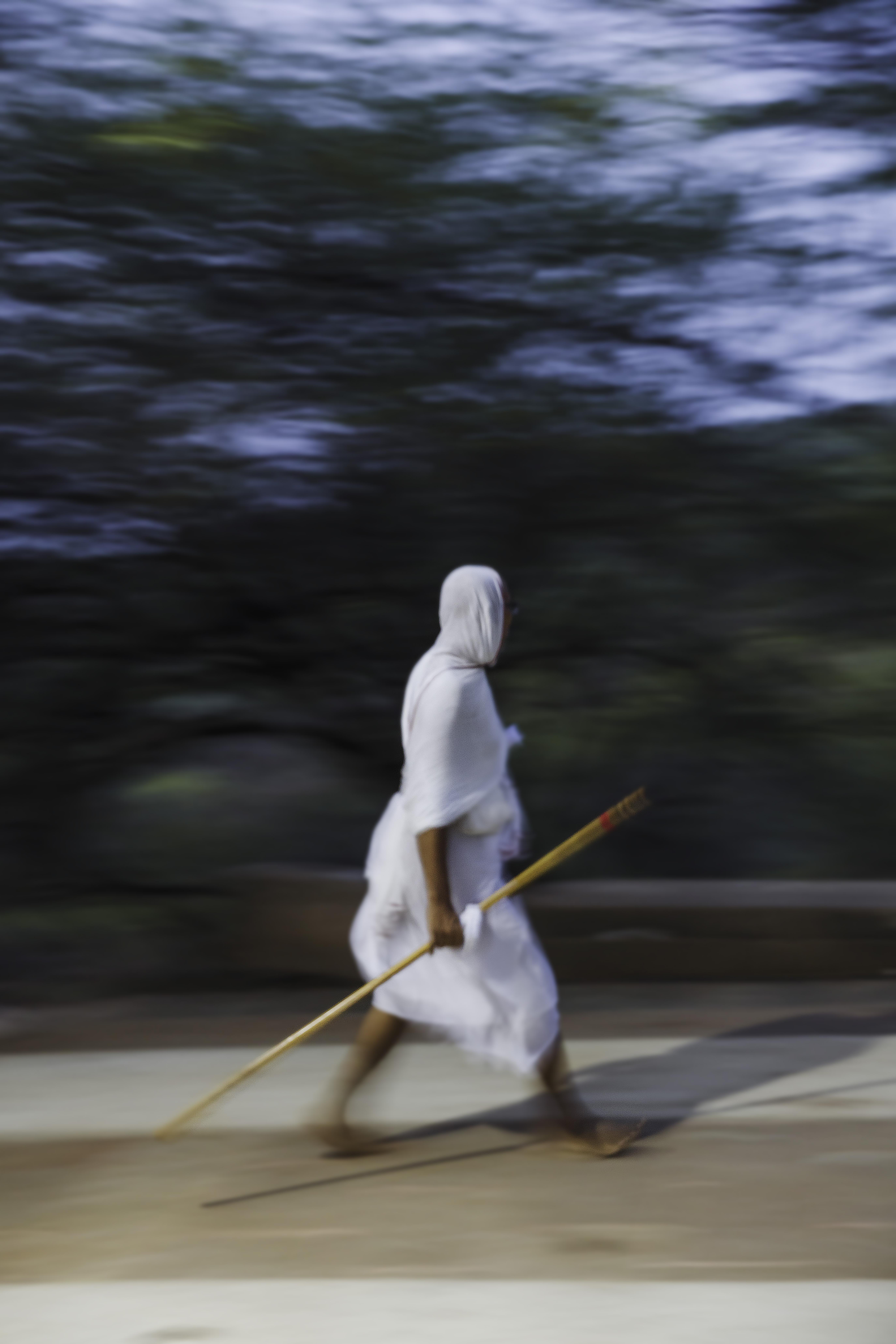 Jain preacher, Palitana Jain temples, Pa
