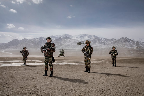 Quick response team Portrait  | The Extraordinary: Indian Army