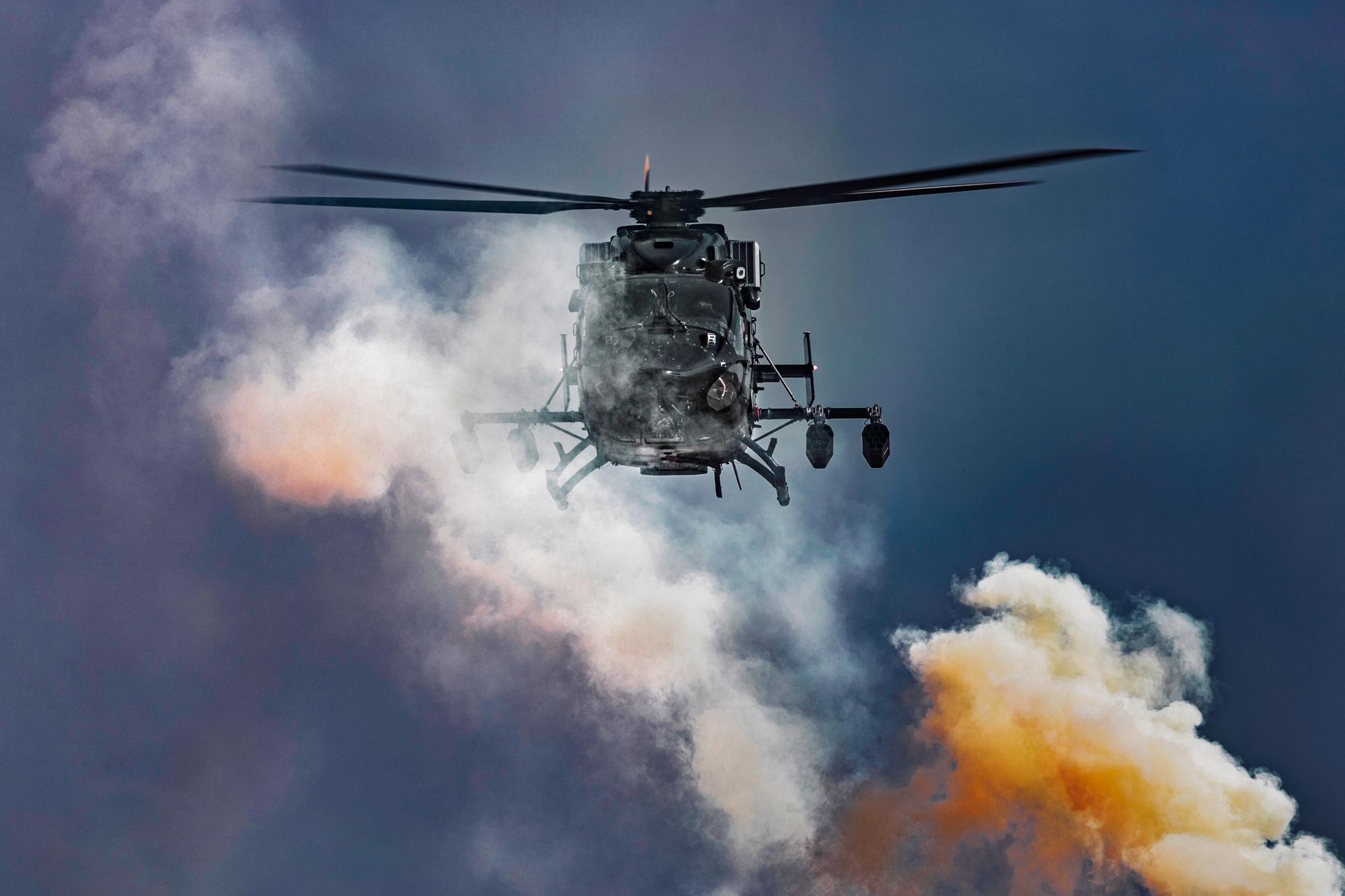 Rudra through smoke 2