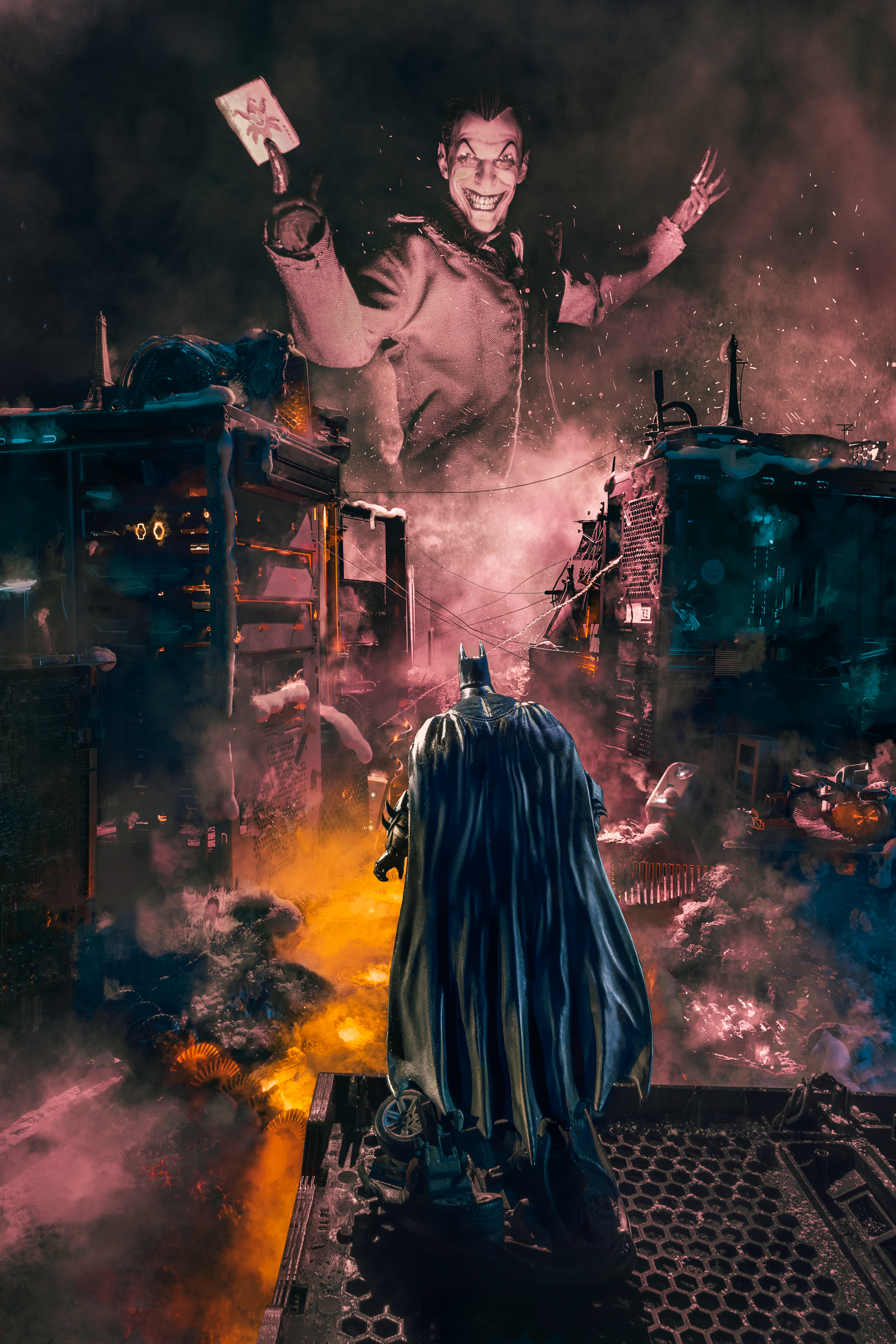 Mind games, Joker vs the Bat
