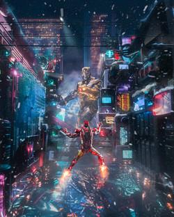 The mad titan, Cyberpunk