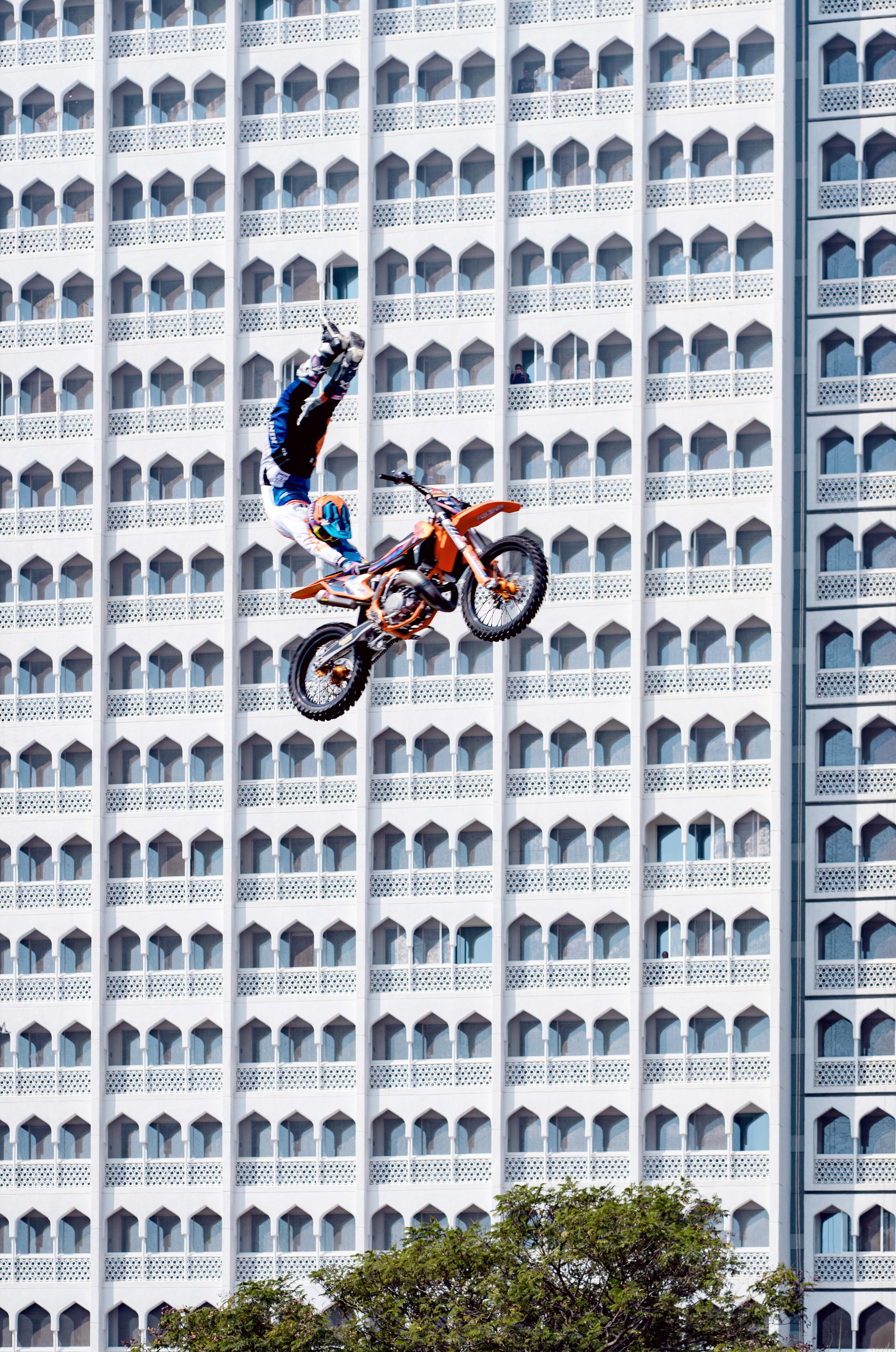 Motorcross Taj Mahal hotel, Mumbai