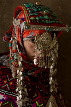 The bride, Spiti valley, India