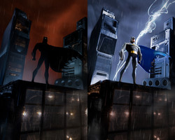 Batman The Animated series Opening seque