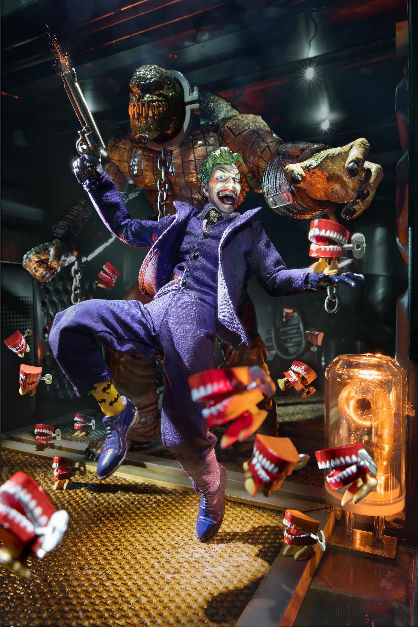 The escape-Joker and killer croc