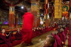 Tawang Monastry prayer