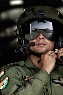 Pilot portrairt reflection