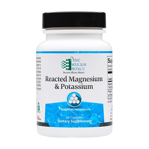 Reacted Magnesium & Potassium