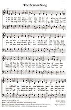 The Servant Song - Hymn (beach spring tu