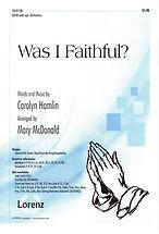 997 Was I Faithful (cover).jpg