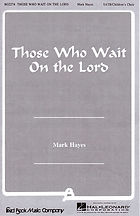 954 Those Who Wait On the Lord (cover).j