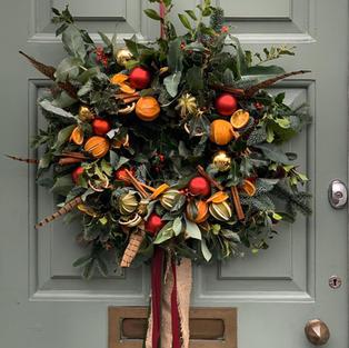 Traditional Door Wreath