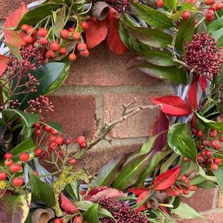 Rustic Autumnal Wreath