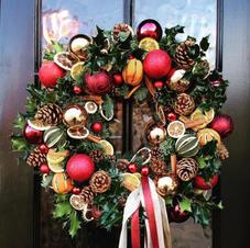 Sparkle Door Wreath