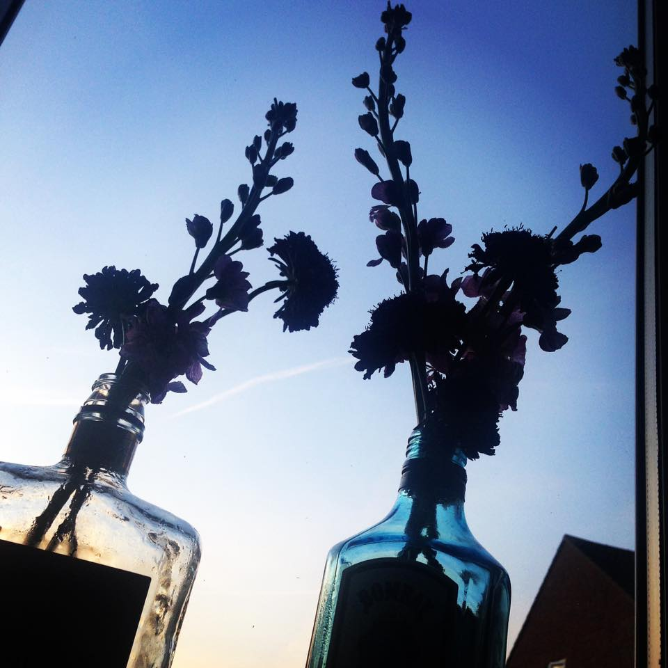 Funky Vase Arrangements