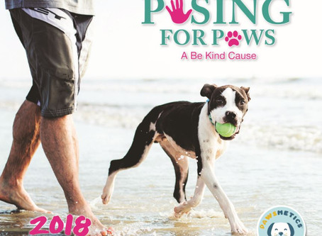 Posing For Paws - 2018 Calendar Fundraiser, a Huge Success