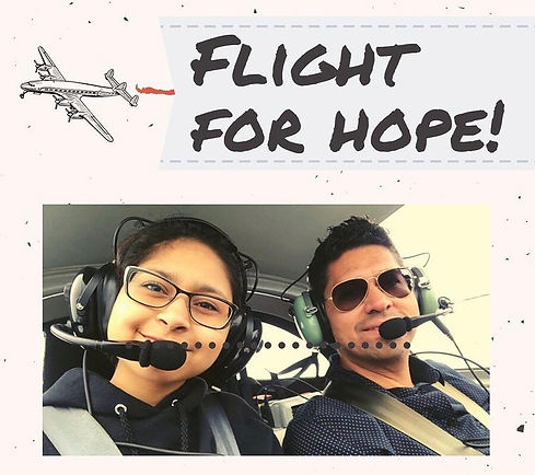 Flight for Hope campaign