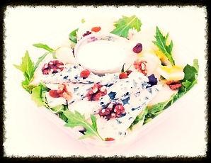 Salade au fromage de Bleu d'Auvergne - La Fromagette