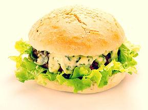 Blue Burger par La Fromagette