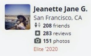 Jeanette Jane's review