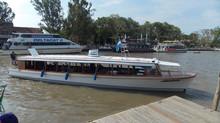 Lancha Albatros realiza viajes desde el Puerto de Tigre hasta Villa La Ñata