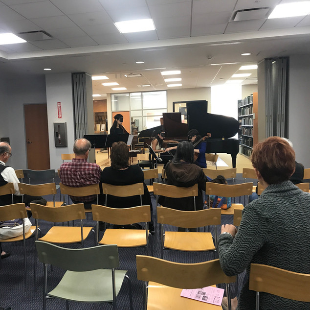 Chamber Music Silicon Valley performance and lecture on Vox Balaenae at the Ira F. Brilliant Center for Beethoven Studies, SJSU