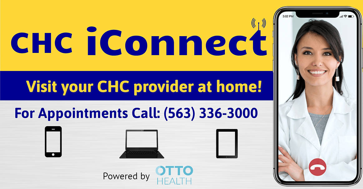 CHC iConnect - WIX Website-OTTO Health g