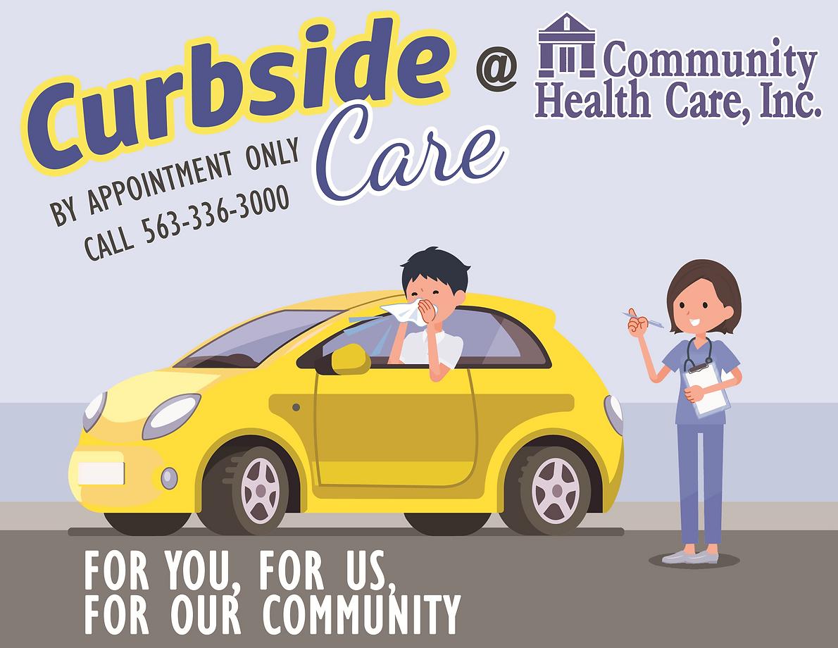 Coronavirus - Curbside Care FB post (ori