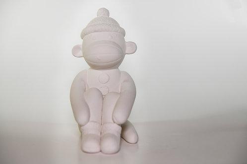 Sock Monkey Bank