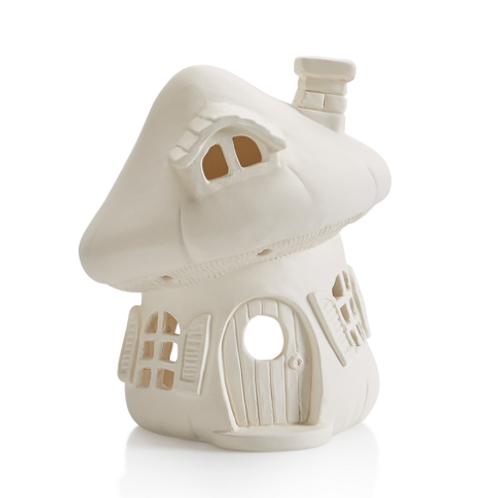 Mushroom Fairy House Lantern
