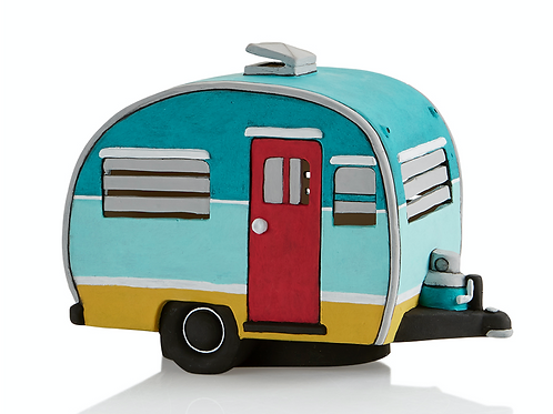 Vintage Light Up Camper