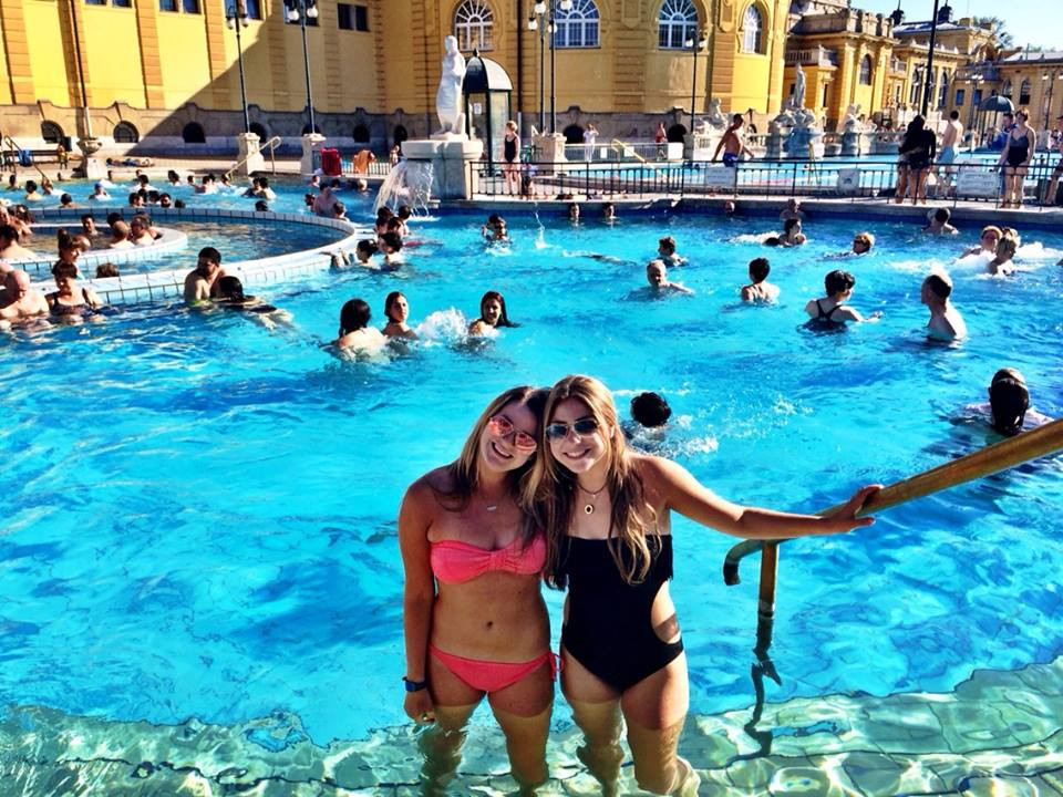 Budapest thermal bath