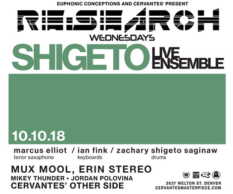 Shigeto Support Poster