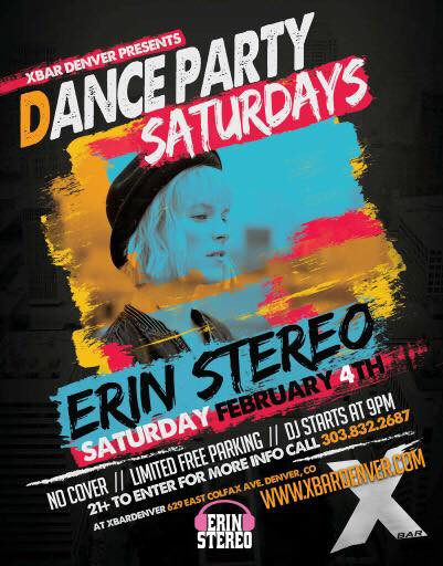 X Bar Dance Party Saturdays