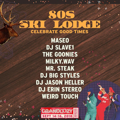 Grandoozy Ski Lodge Lineup
