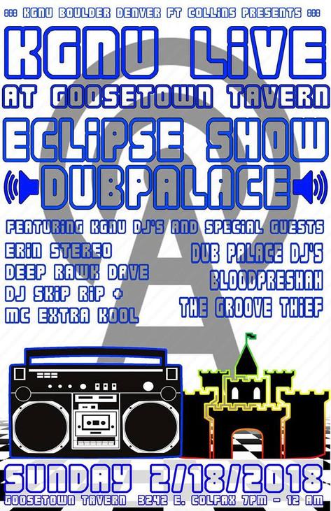 KGNU Eclipse Show LIVE