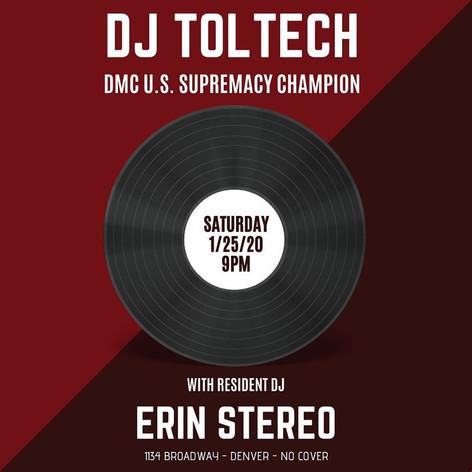 Toltech & Erin Stereo Poster