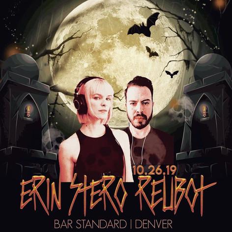 Reubot & Erin Stereo Poster