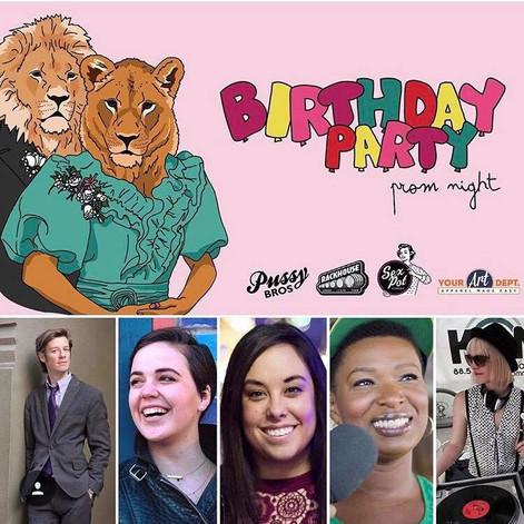 Pussy Bros Birthday Party