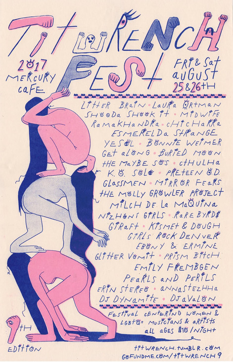 Titwrench Festival Poster