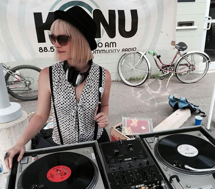 All Vinyl Street Show for KGNU square