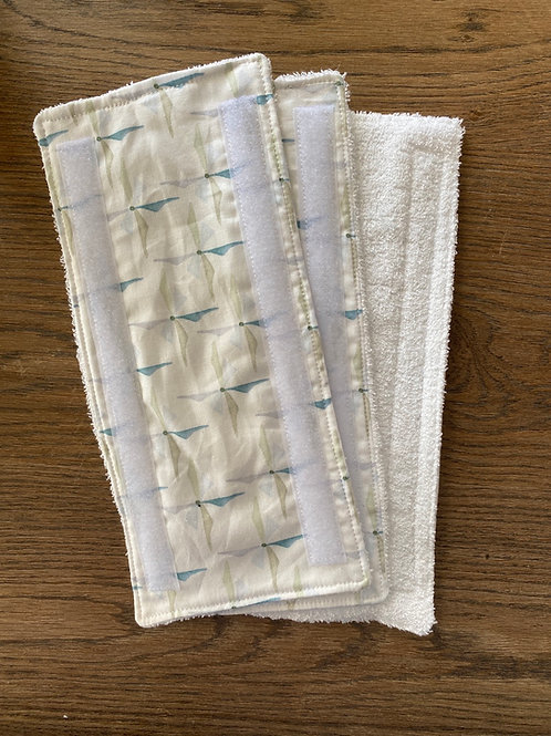 3 reusable floor washing wipes (swiffer)