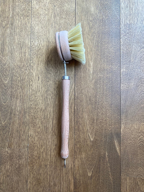 1 dish brush with handle