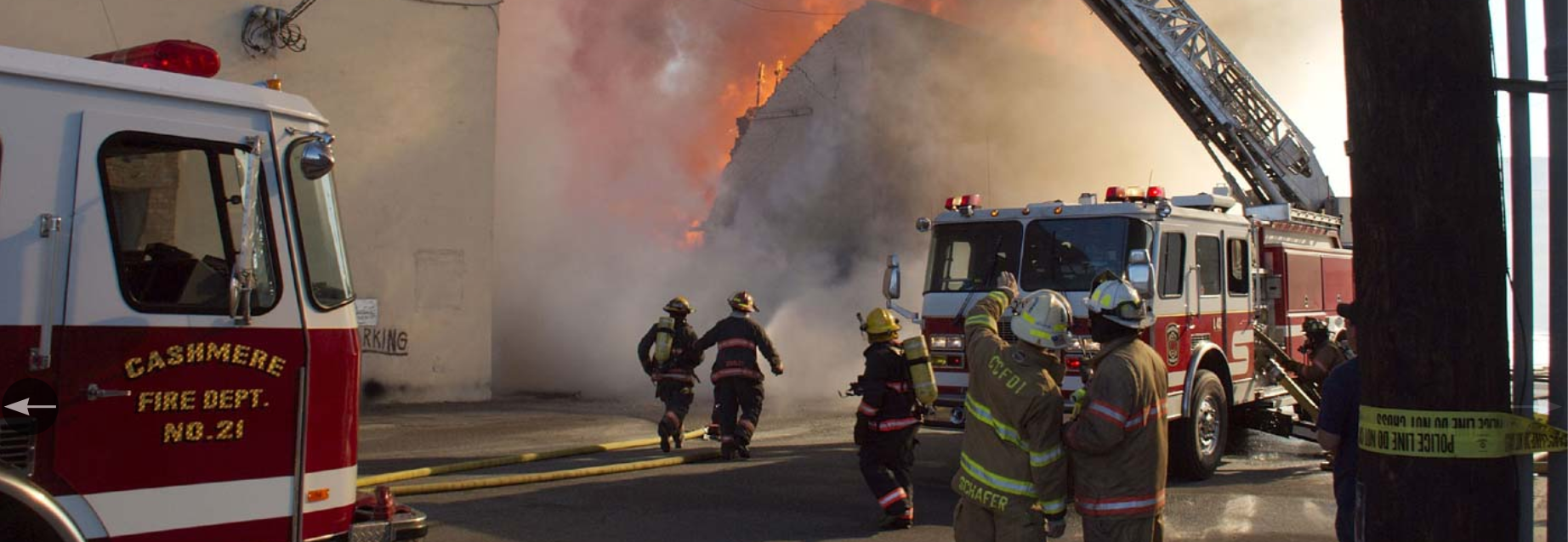 Photo by: Cary Ulrich (Go USA, Columbia Street Fire - June 2009)