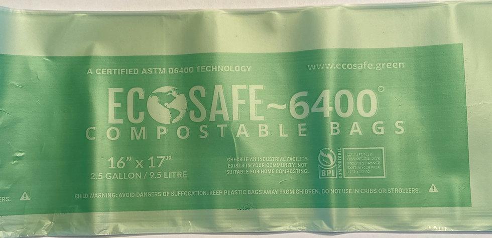 30 compostable bags (2.5 gallon size)