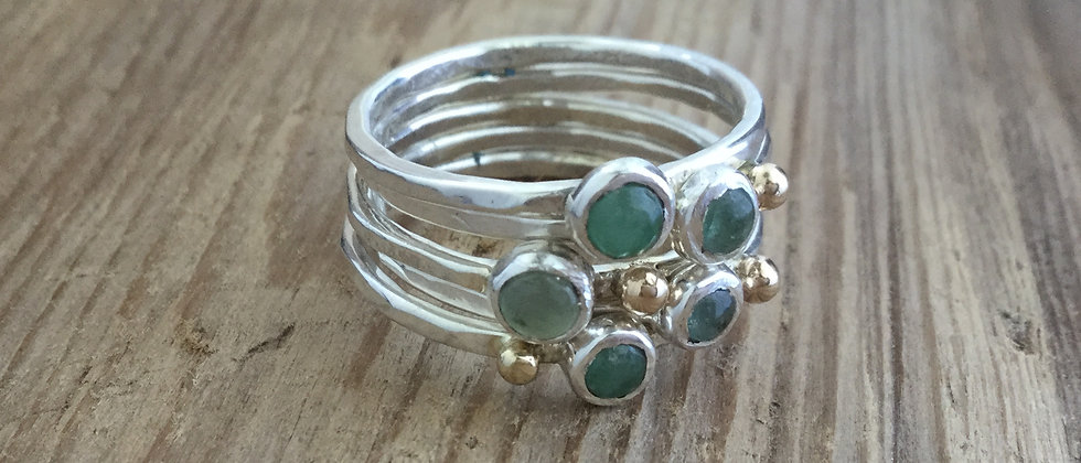 ooak stacking ring