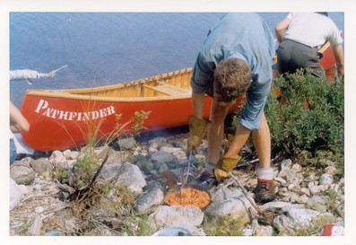 Shore side meal from the 60's