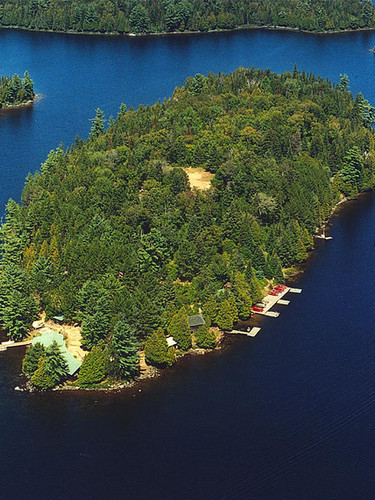 Island from the sky